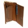 Kép 2/2 - Krém színű műbőr brifkó pincér pénztárca