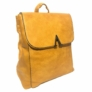 Kép 1/3 - műbőr hátitáska silvio sárga