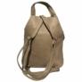 Kép 3/3 - Műbőr hátizsák krém színben