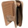 Kép 3/3 - Barna színű műbőr pénztárca