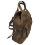 Kép 3/3 - Műbőr hátizsák barna színben