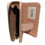 Kép 3/3 - Pink virágos műbőr pénztárca