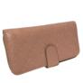 Kép 2/3 - Púder színű műbőr pénztárca
