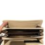 Kép 3/3 - Tört fehér színű nagyméretű műbőr pénztárca
