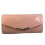 Kép 2/3 - Alkalmi táska lakk hatású pink színben