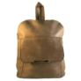 Kép 1/3 - Műbőr barna hátizsák 6756