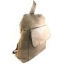 Kép 2/3 - Műbőr barna hátizsák 6756