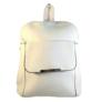 Kép 1/3 - Műbőr fehér hátizsák 6756
