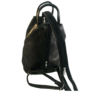 Kép 2/3 - Műbőr fekete hátizsák 349