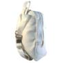 Kép 3/3 - Műbőr hófehér hátizsák 6762