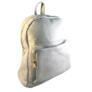 Kép 2/3 - Műbőr szürke hátizsák 6758
