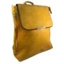 Kép 2/3 - Mustár színű műbőr hátitáska 81994