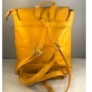 Kép 3/3 - Mustár színű műbőr hátitáska 81994