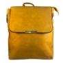 Kép 1/3 - Mustár színű műbőr hátitáska 81994