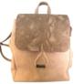 Kép 1/4 - Chiara mintás barna hátizsák