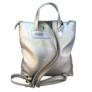 Kép 2/2 - Karen nagyméretű ezüst hátizsák