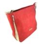Kép 2/3 - Karen rostbőr piros válltáska 1372-BIS