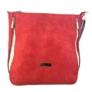 Kép 1/3 - Karen rostbőr piros válltáska 1372-BIS