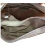 Kép 4/4 - Fehér műbőr osztott váll és oldaltáska