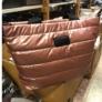 Kép 2/2 - Steppelt kabát anyagú oldaltáska rózsaszín