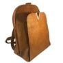 Kép 1/3 -  Műbőr hátitáska barna színben 2431