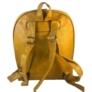 Kép 3/3 - Műbőr hátitáska mustár színben 2431