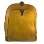 Kép 2/3 - Műbőr hátitáska mustár színben 2431