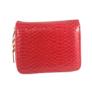 Kép 1/4 - Kisméretű piros pénztárca F6619