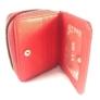 Kép 3/4 - Kisméretű piros pénztárca F6619