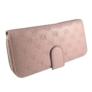 Kép 2/4 - Pink virágmintás műbőr pénztárca T-035