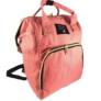 Kép 2/3 - Baba - mama pamutvászon táska rózsaszín