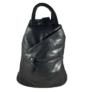 Kép 1/3 - Divatos fekete hátizsák 0206