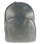 Kép 1/3 - Kis trendi hátizsák fekete 18005