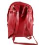 Kép 3/3 - Kis trendi hátizsák piros 18005