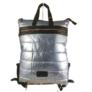 Kép 1/2 - Világoskék steppelt hátizsák