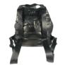 Kép 3/4 - Fekete steppelt divatos hátizsák
