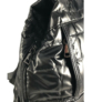 Kép 4/4 - Fekete steppelt divatos hátizsák