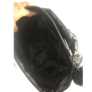 Kép 4/4 - Fekete óriás steppelt osztott válltáska