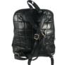 Kép 3/4 - Steppelt hátizsák fekete színben 8353