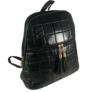 Kép 2/4 - Steppelt hátizsák fekete színben 8353