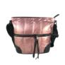 Kép 3/4 - Steppelt oldaltáska pink színben
