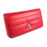 Kép 1/3 - Piros steppelt pénztárca