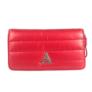Kép 2/3 - Piros steppelt pénztárca