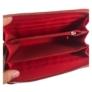 Kép 3/3 - Piros steppelt pénztárca
