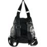 Kép 3/4 - Fekete steppelt divatos hátizsák 7080