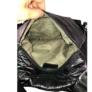 Kép 4/4 - Fekete steppelt divatos hátizsák 7080
