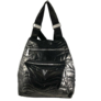 Kép 2/4 - Fekete steppelt divatos hátizsák 7080