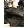 Kép 4/4 - Merev tartású mintás fekete válltáska
