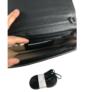 Kép 3/3 - Nagyméretű fekete steppelt pénztárca