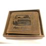 Kép 1/2 - Retro Lada férfi bőr pénztárca barna